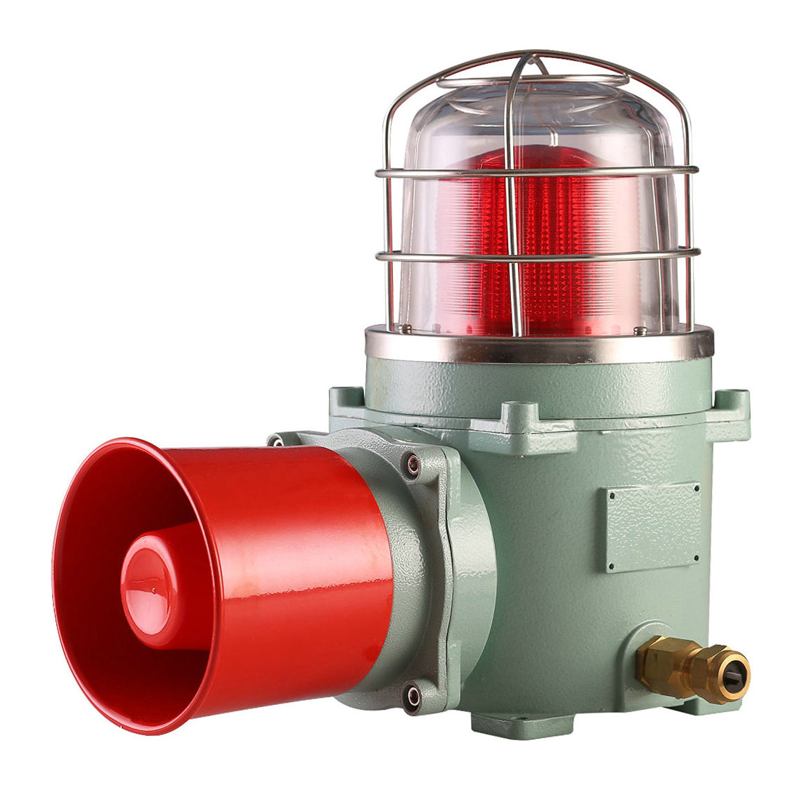 AESL-150 Explosion Proof Alarm Sounder With Warning Beacon